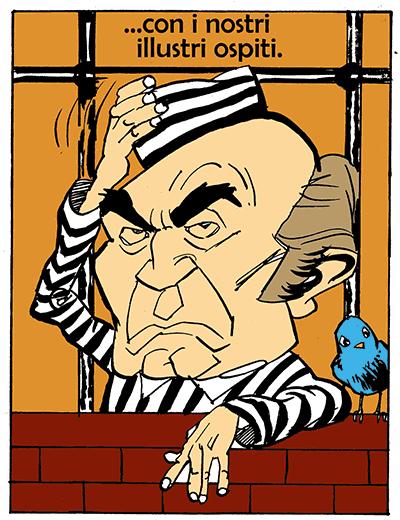 Italian comics i simpson e il parlamento italiano