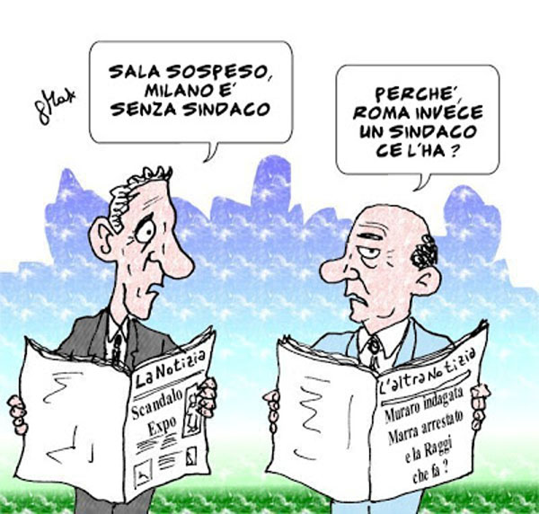 Tragicommedia all'italiana...