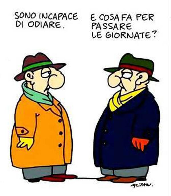ITALIAN COMICS -La Vignetta d'Autore di Altan: il segno dei nostri tempi…