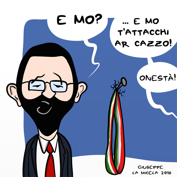 Italian comics marino story il ritorno for Chi va a roma perde la poltrona